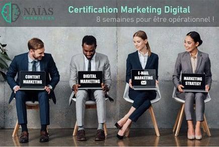 Candidats Formation Marketing Digital