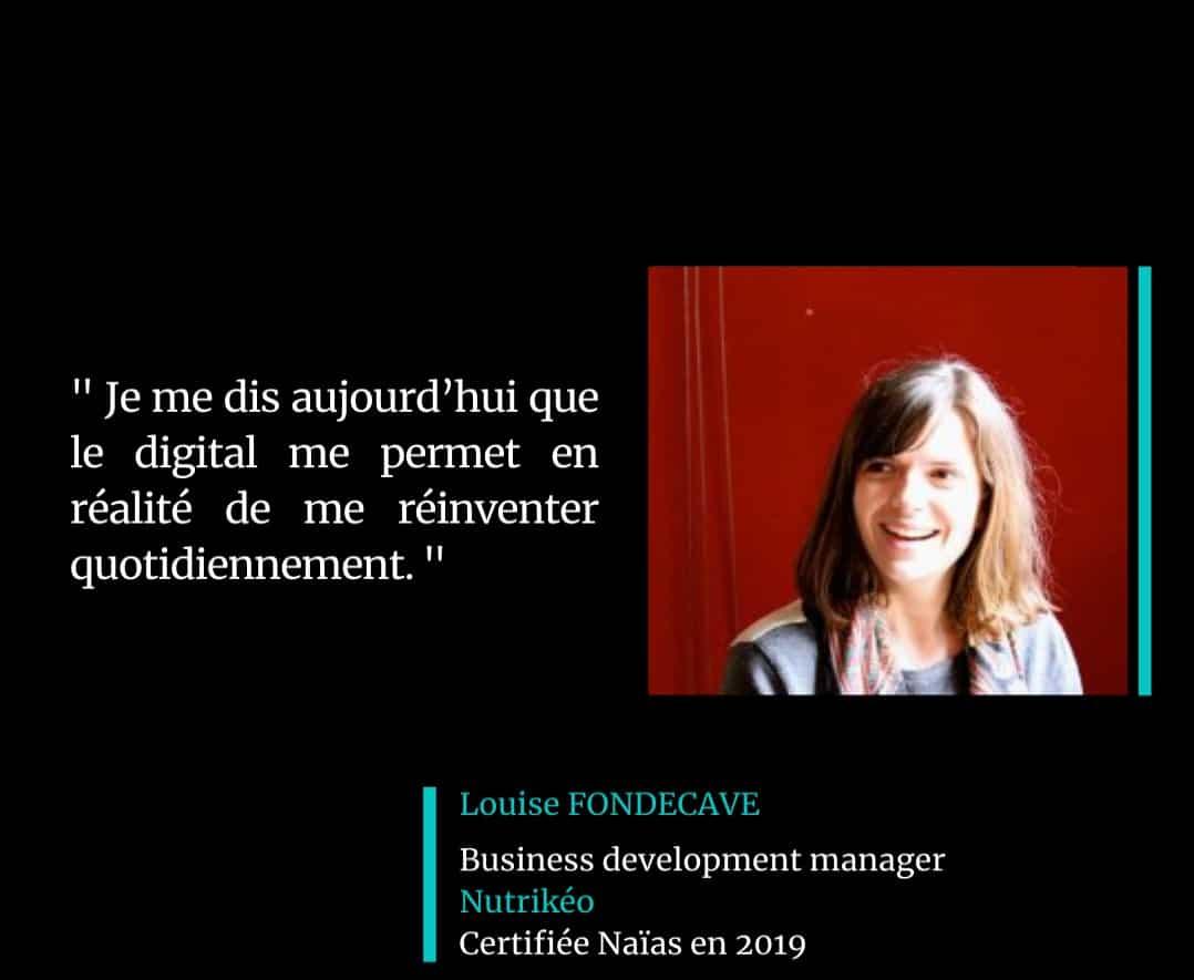 Témoignage Louise Fondecave Certification Marketing Digital