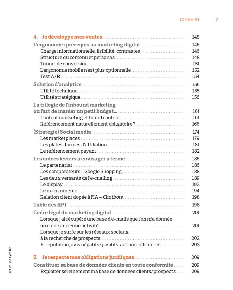 Réussir son E-Commerce Page 3