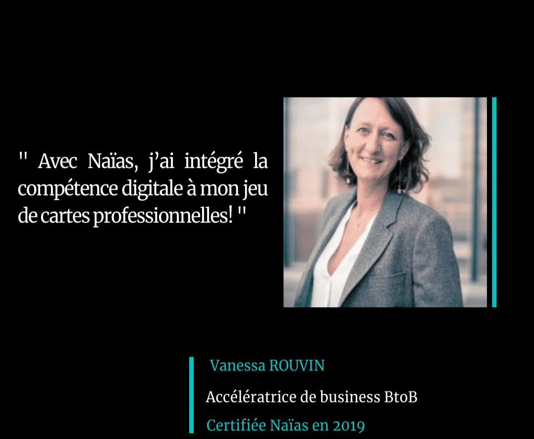 Témoignage Vanessa Rouvin Certification Marketing Digital